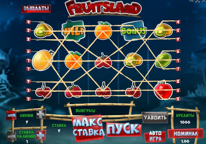 Автомат Плоды Земли в казино vulkan champion play